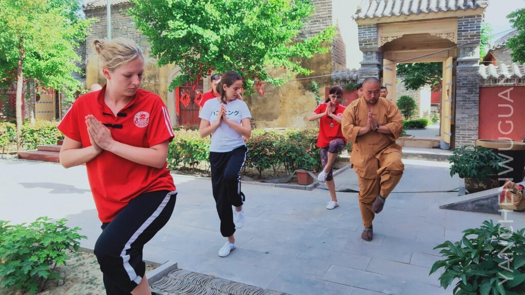 Traditional Shaolin kung fu center of master Shi Yanchen 1