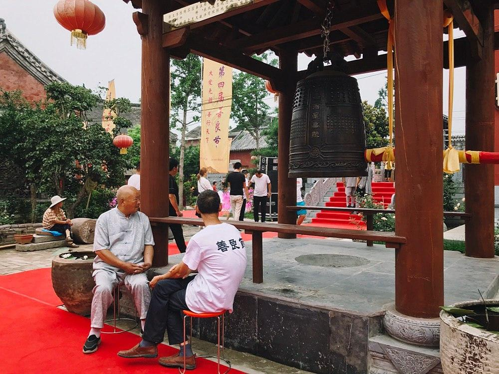 "Festival ""Virtues"" called ""Shanlian"" in the temple Baitusi 白兔寺 16"